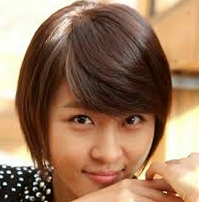 Asian Women Short Haircuts with Thick Hair