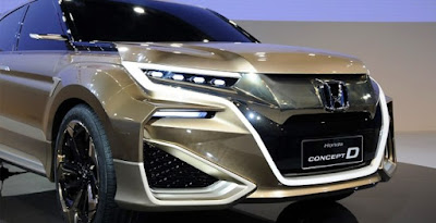 2020 Honda Crosstour Concept, prix et changements Rumeur - Le 2020 Honda Crosstour