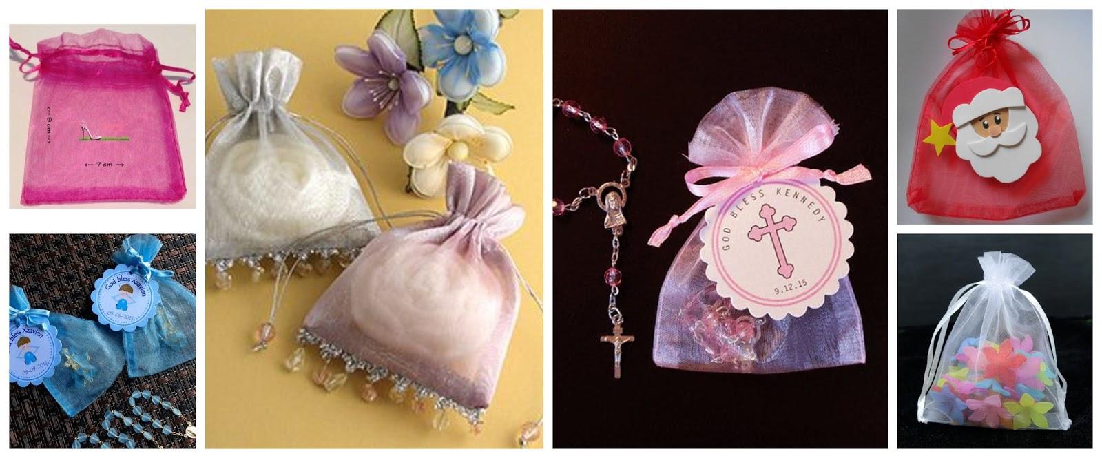 Aprende cómo hacer lindas bolsitas de organza para souvenirs ~ lodijoella
