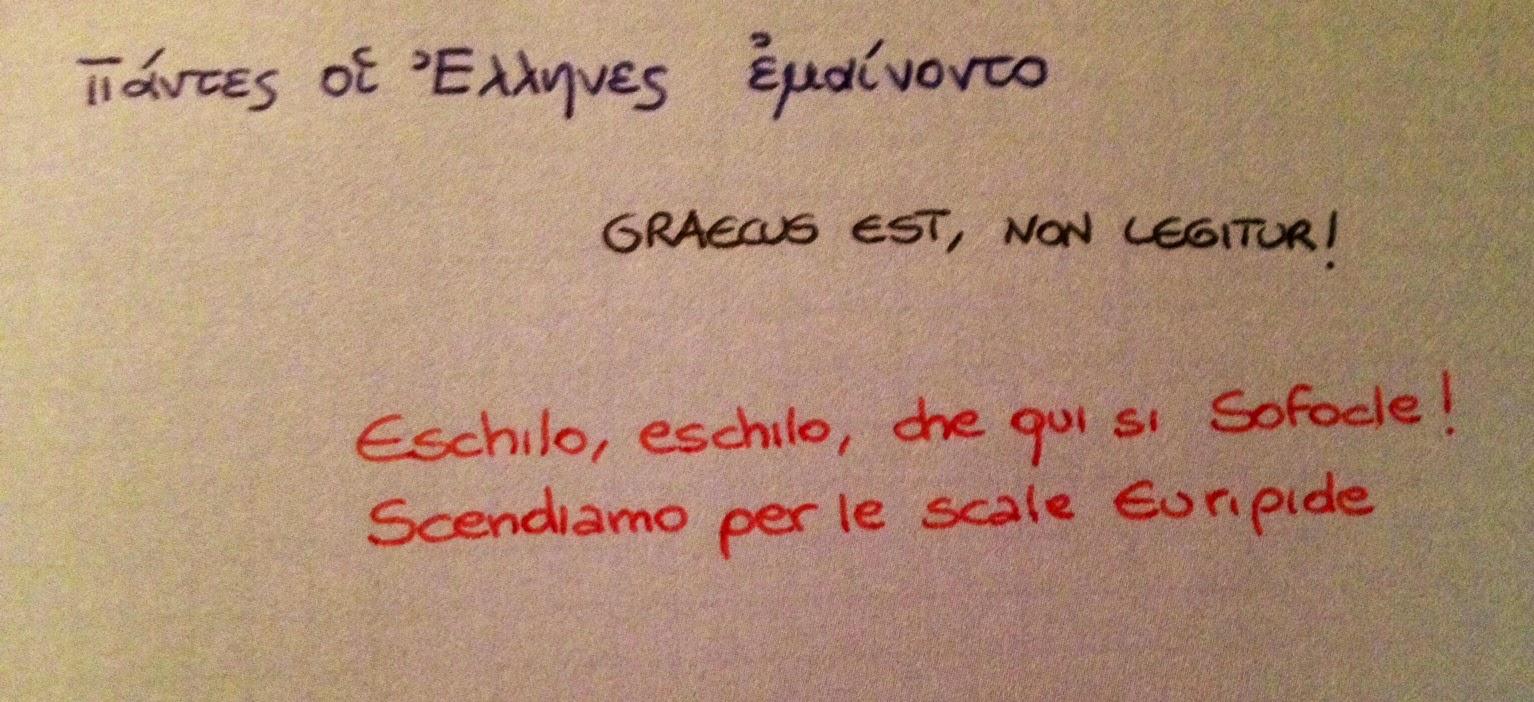 Frasi In Greco Antico Socrate