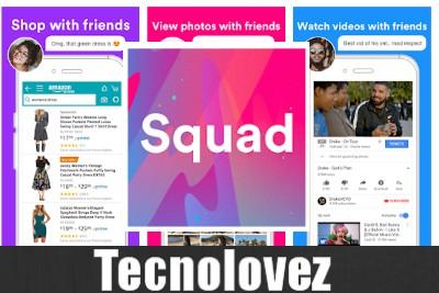 Squad - Applicazione per le videochiamate e la condivisione dello schermo fino a 8 amici