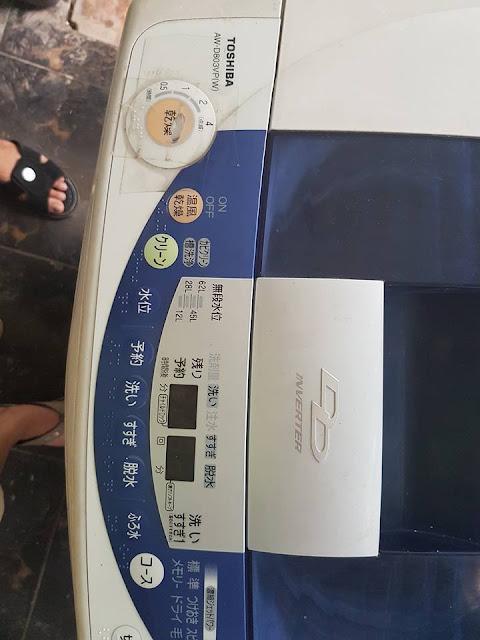 Sửa máy giặt Toshiba tại Hà Đông Hà Nội