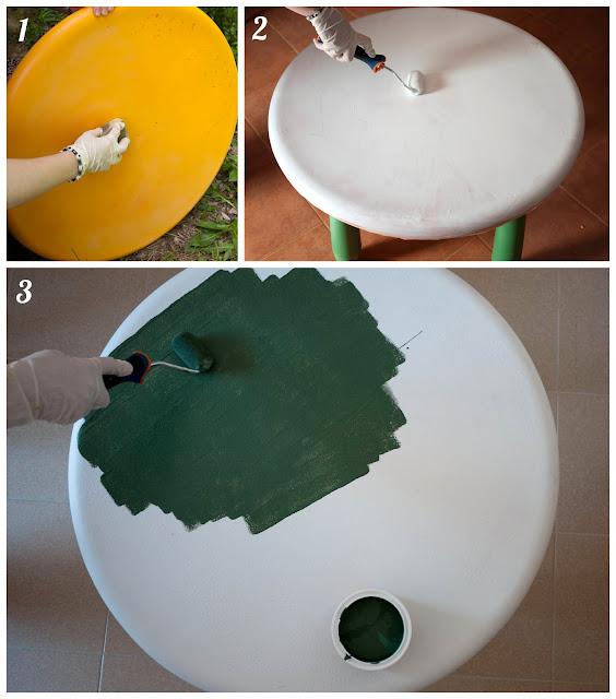 Cómo hacer una mesa pizarra
