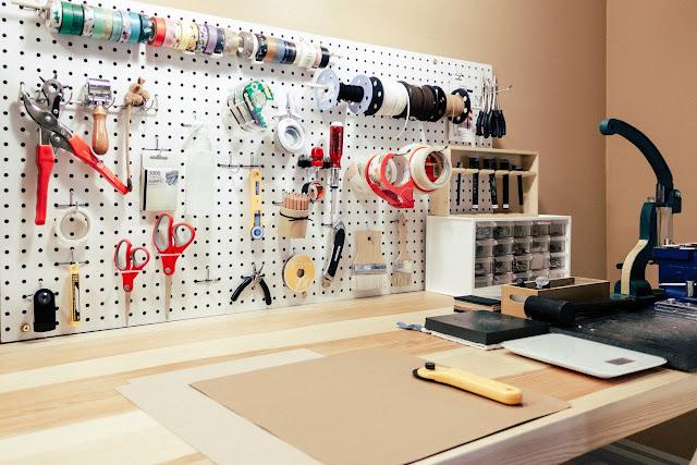 SIDONIEYANG 工作室牆面收納板