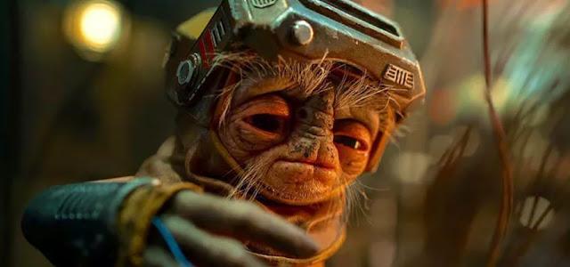 Arte Conceitual de Star Wars: A Ascensão Skywalker revela visual alternativo para Babu Frik