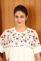 Lavanya Tripathi in Summer Style Spicy Short White Dress at her Interview  Exclusive 183.JPG