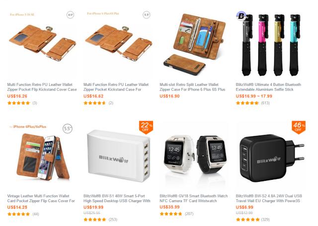 AmazonそっくりなECサイトbanggood(バングット)を使って見てお届け。Amazonの半額ぐらいの商品もあるよ。