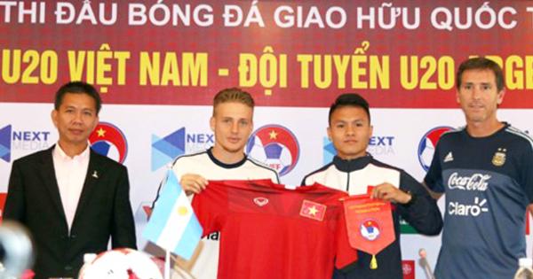 Vietjet Air nhà vận chuyển chính thức của đội tuyển U20 Argentina tại Việt Nam