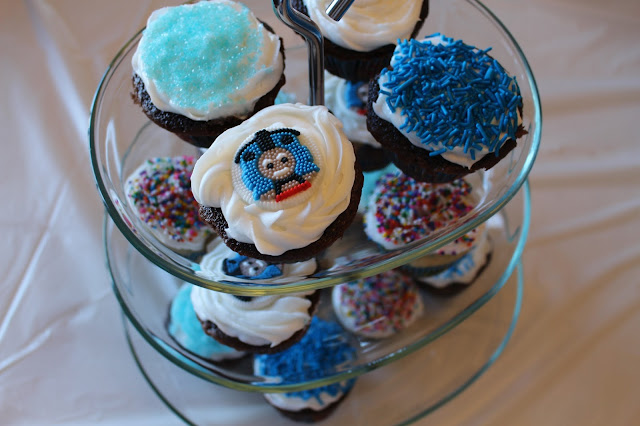 Cupcakes for 2nd birthday party