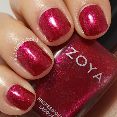 Zoya Urban Grunge Metallic Holos - Ash | Kat Stays Polished