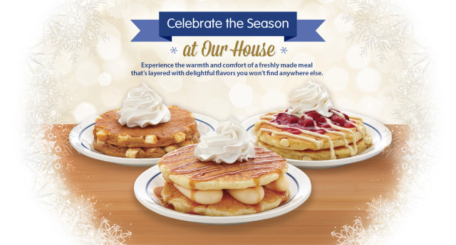 ihop Here's what you can expect from the IHOPxGrinch menu: Grinch's Green Pancakes: two Grinch-green buttermilk pancakes topped with sweet cream cheese icing, .