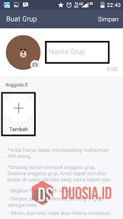 Cara Membuat Grup LINE Dengan Mudah - Duosia