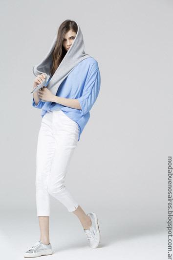 Pantalones primavera verano 2017 ropa de mujer. Moda 2017.