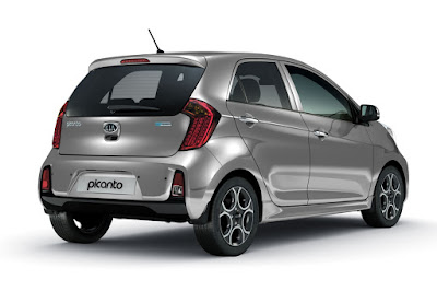 KIA Picanto rear look picture