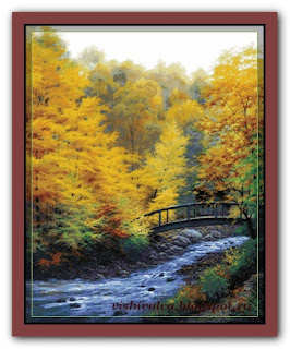 "Candamar 9139 ""Autumn stream"""