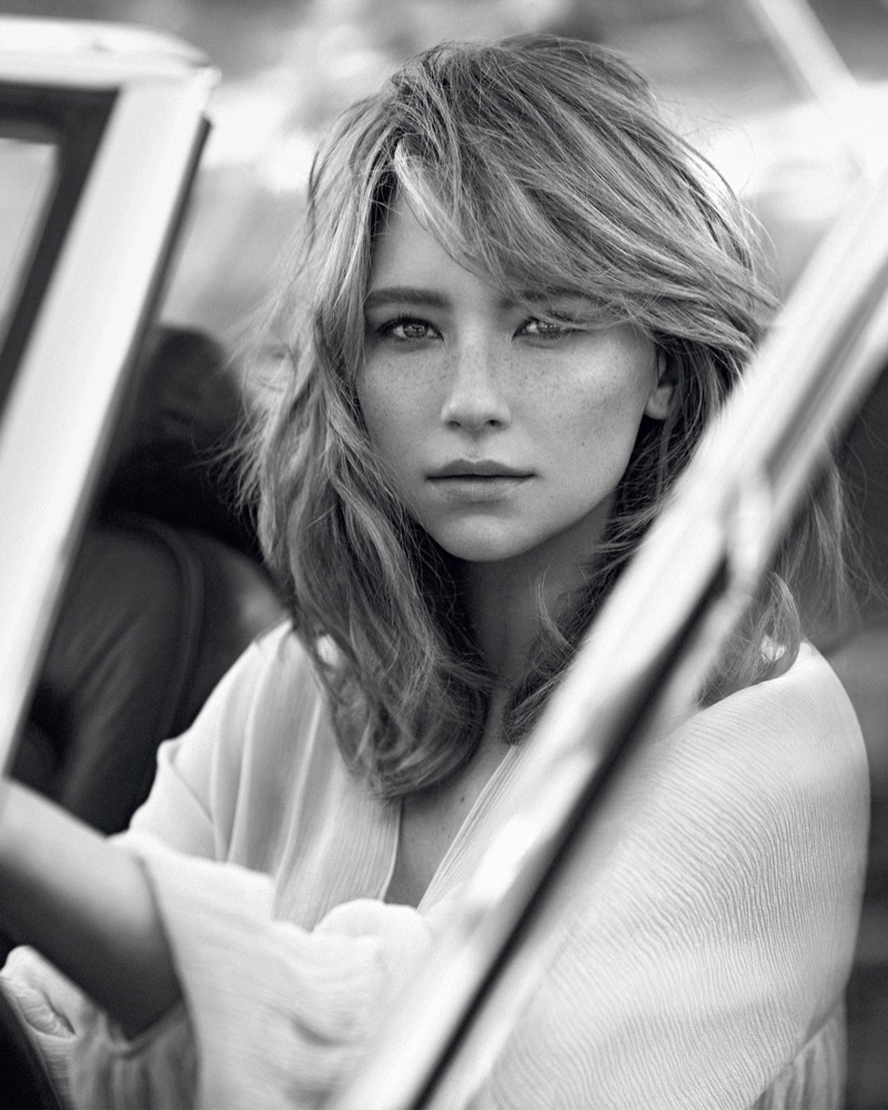 Haley Bennett stars as the face of Chloe's signature fragrance