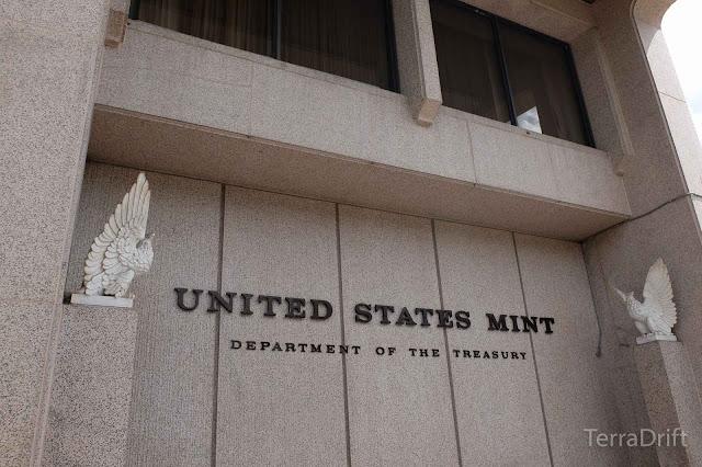 The US Mint in Philadelphia