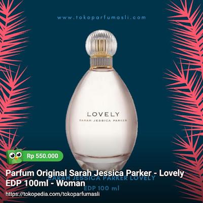 toko parfum asli parfum original sarah jessica parker lovely edp 100ml woman