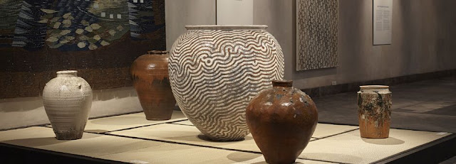 Ceramics by Per Weiss in Learning from Japan, image by Pernille Klemp