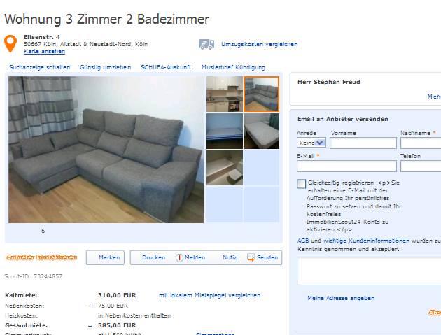 wohnungsbetrugblogspotcom alias Frau Martina Koertig Mblierte 3Zimmerwohnung Hardenbergstr