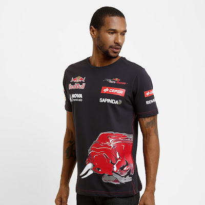 Camiseta Red Bull Teamwear