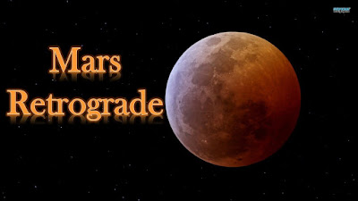 Mars Going retrograde