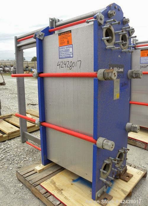 used refurbished plated for plate heat exchanger