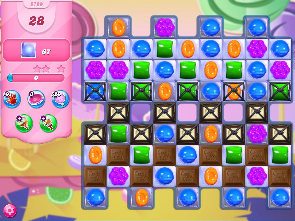 Candy Crush Saga level 3730