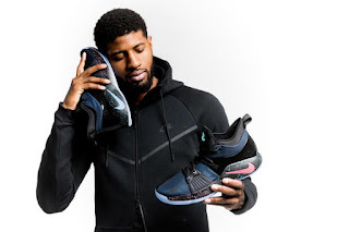 Paul George and his PG2 Sneakers.