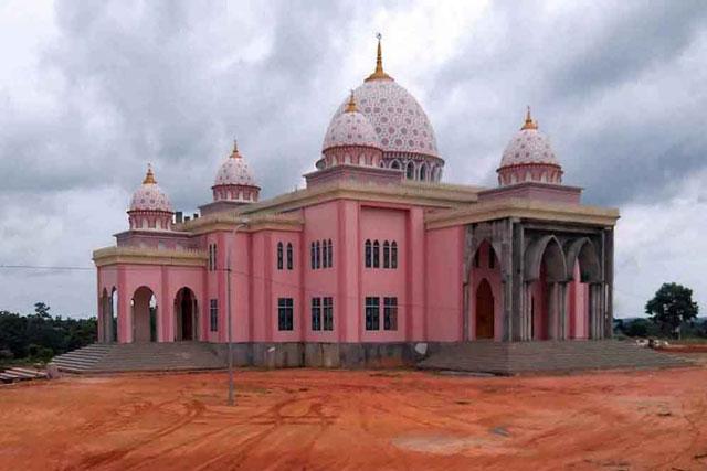 Masjid Pink Pulau Bintan