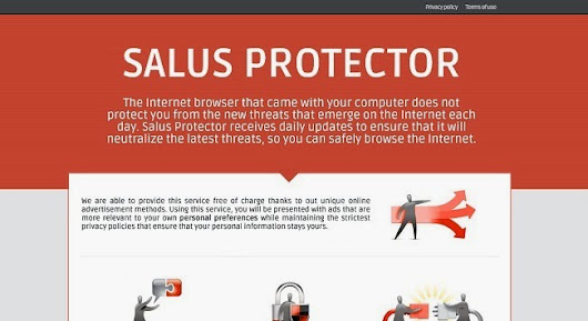 How to Get Rid of Ads by Salus Potector Pop-up Completely?