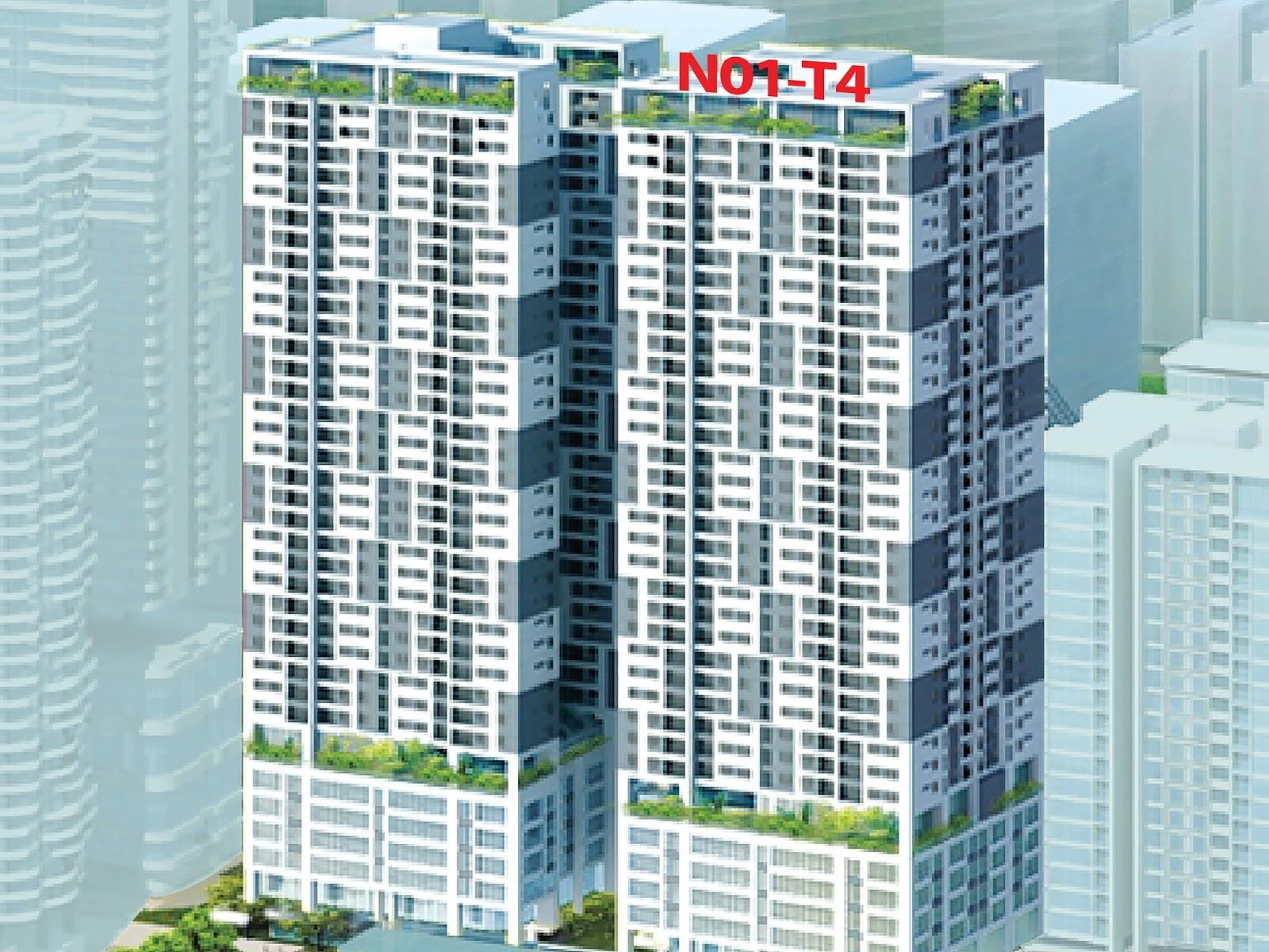 Đường đến với chung cư N01T4 Ngoại Giao Đoàn