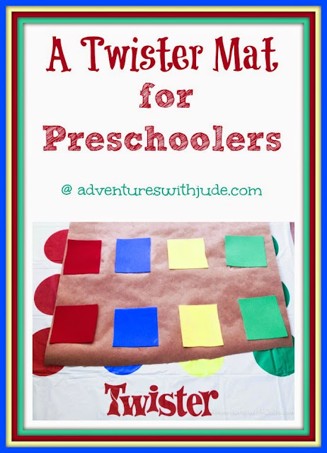 preschool sized twister game