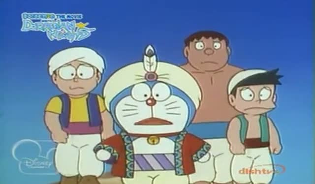 Doraemon nobita in dorabian nights movie / tom and jerry tales vol.