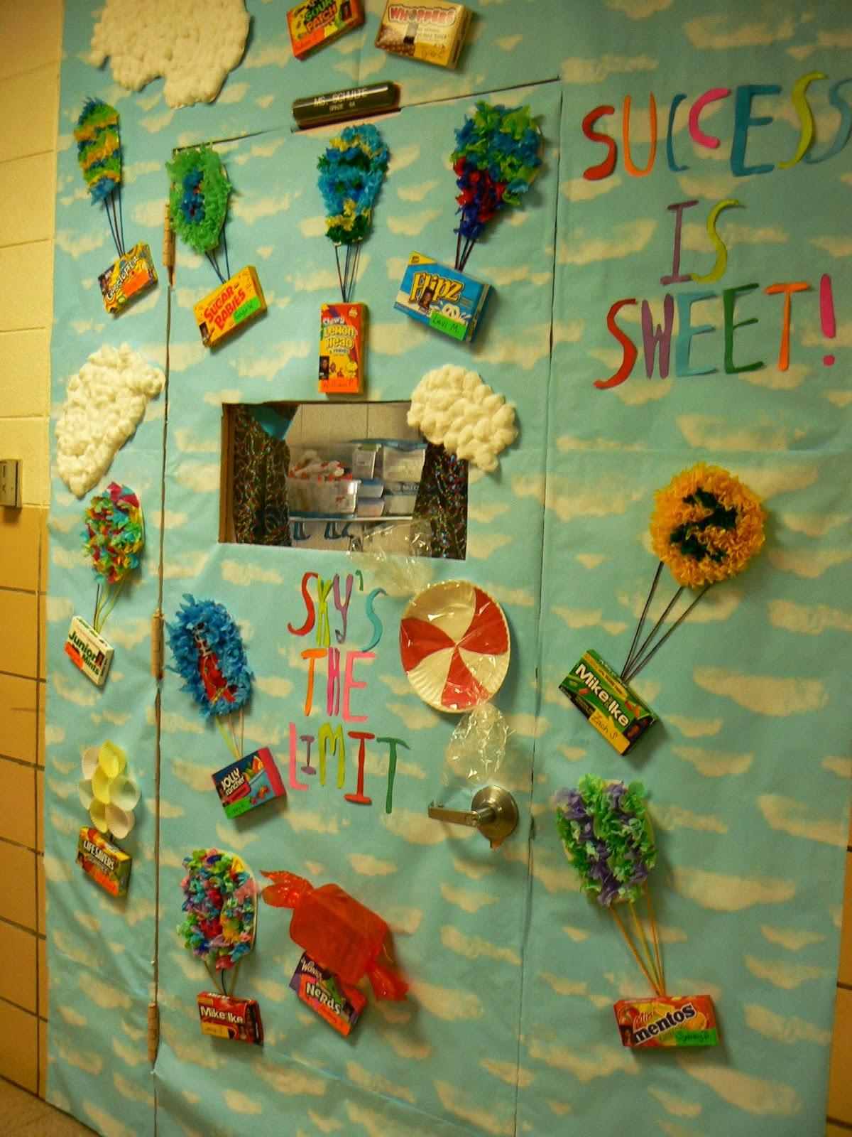 Salleeb S Kitchen A Candy Themed Classroom Door