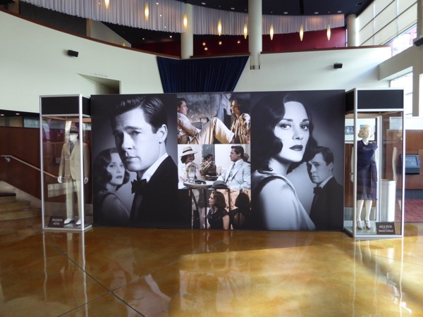 Allied movie costume exhibit