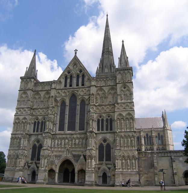 5. Salisbury Cathedral, England