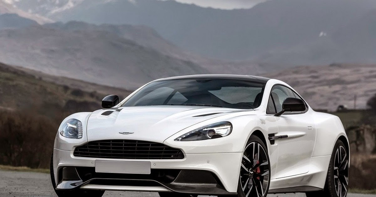 Aston Martin Vanquish Carbon White Special Edition Car Reviews