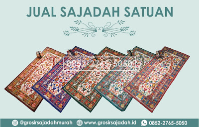 jual sajadah satuan murah, jual sajadah batik, 0852-2765-5050