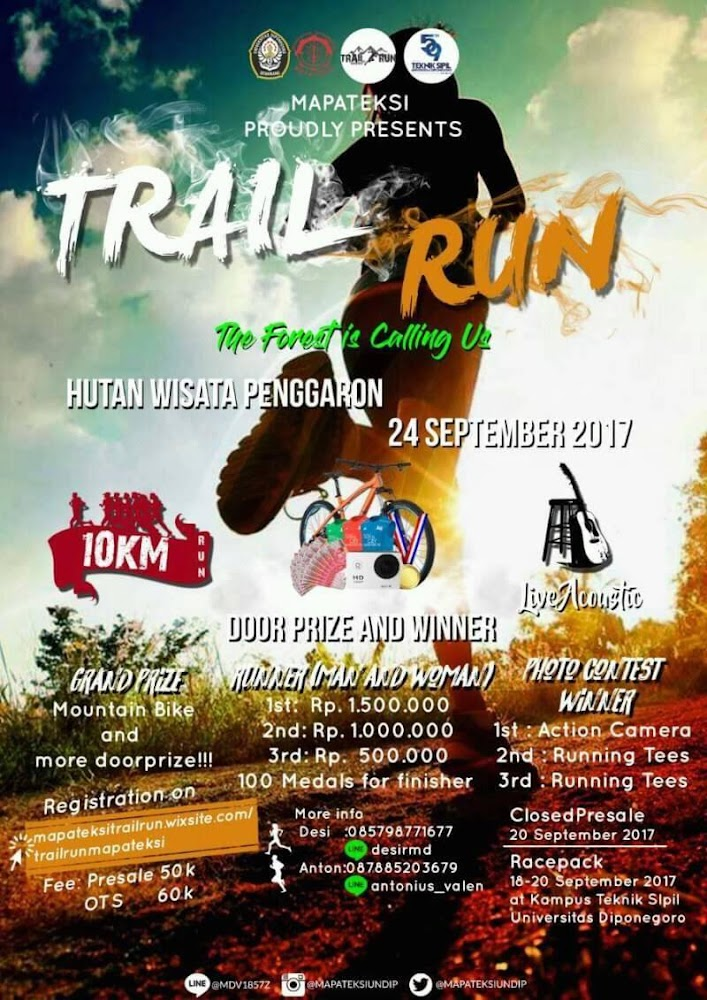 Trail Run Mapateksi • 2017