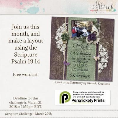 March Scripture challenge