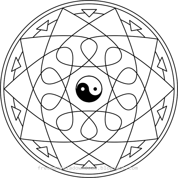 mandala malvorlagen aus kanada  free mandala download