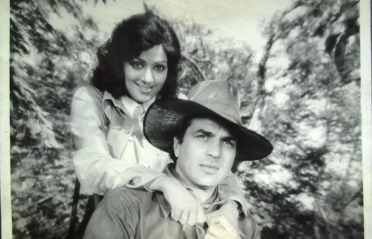Dharmendra and Hema Malini 1976