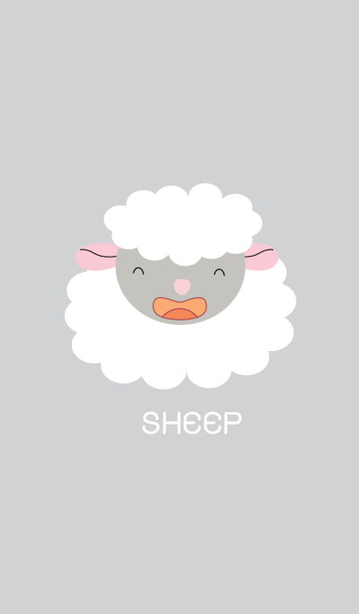 Cute sheep theme vr.2 (JP)