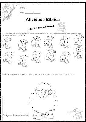 Atividade - Páscoa Cristã