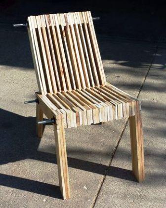 Cara Membuat Kursi Dari Kayu Bekas : membuat, kursi, bekas, Kursi, Minimalis, Bekas, Pallete, Chair, BintangTop.Com, Dunia, Kreativitas, Tanpa, Batas