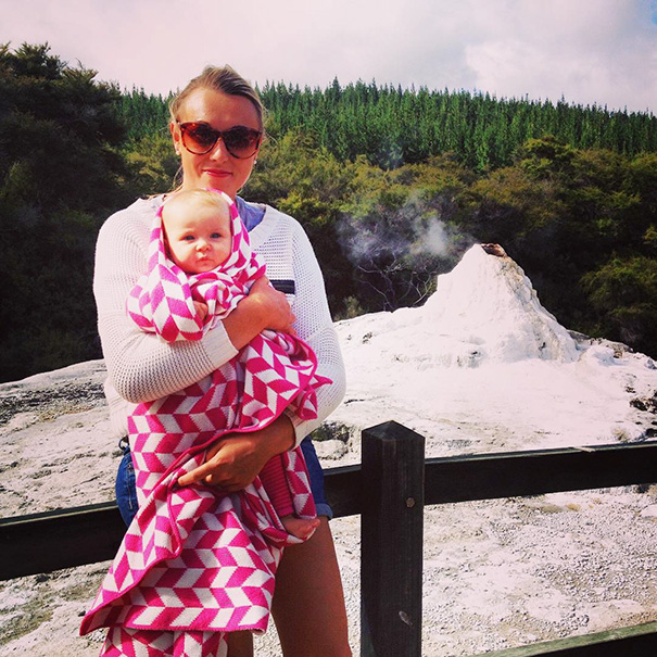 """""""It is through these experiences, I want to share factual information, personal stories as well as top tips for travelling with little ones"""" - 1-Year-Old Has Been Travelling Around The World Since She Was Born"""