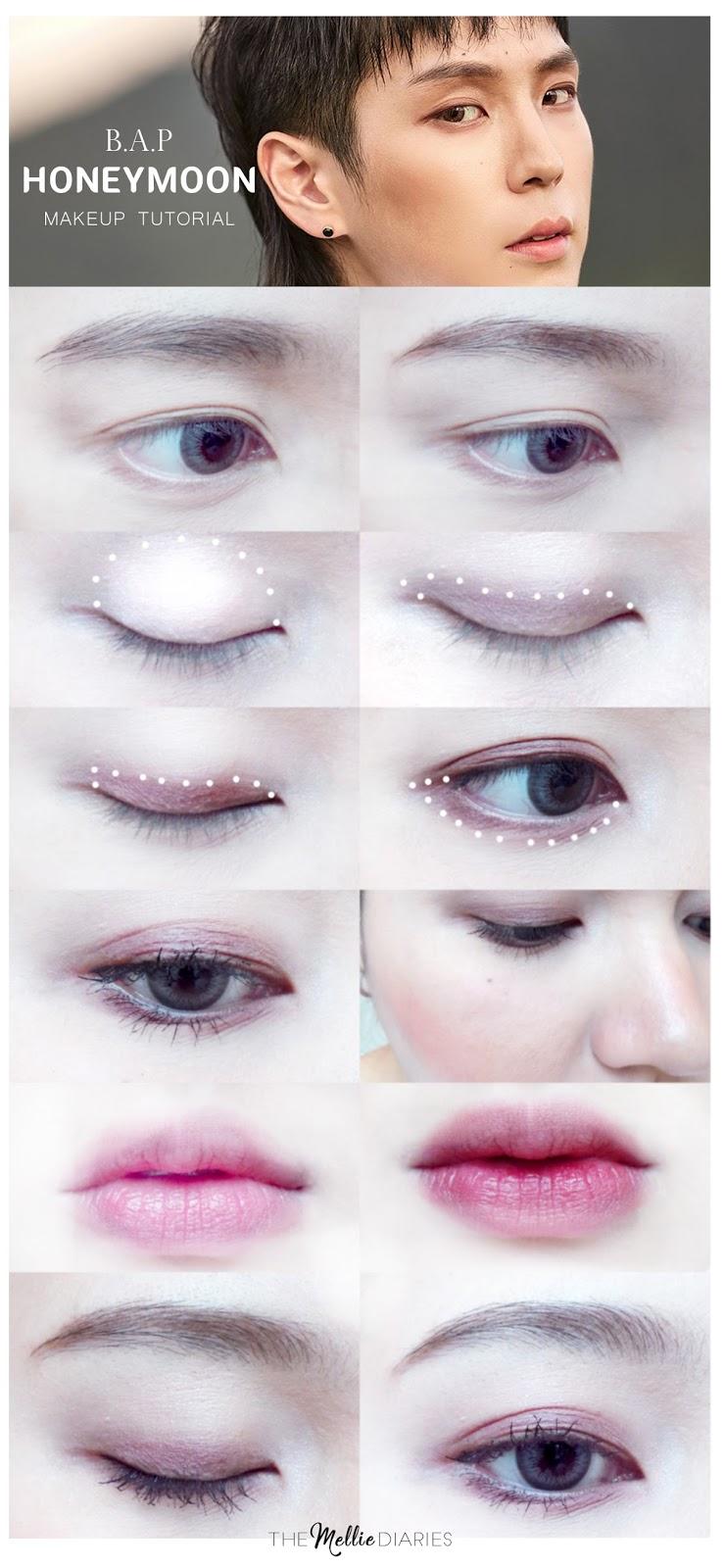Makeup Tutorial B.A.P Honeymoon kpop kbeauty