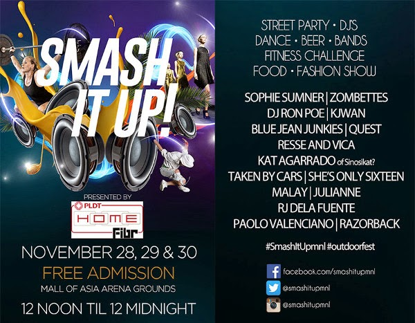 #SMASHITUP: A THREE DAY OUTDOOR FESTIVAL