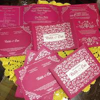 Undangan Pink